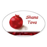 Pomegranate Rosh Hasana Decal