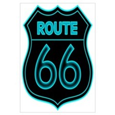 Route 66 Neon - Teal