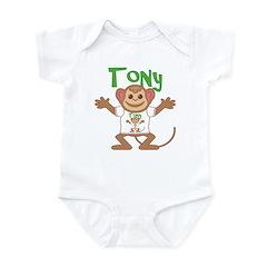 Little Monkey Tony Infant Bodysuit