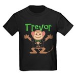 Little Monkey Trevor Kids Dark T-Shirt