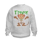 Little Monkey Trevor Kids Sweatshirt