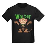 Little Monkey Walter Kids Dark T-Shirt