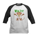 Little Monkey Walter Kids Baseball Jersey