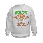 Little Monkey Walter Kids Sweatshirt