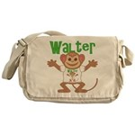 Little Monkey Walter Messenger Bag