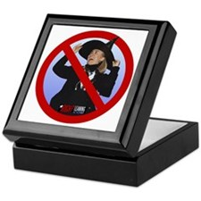 No Hillary Keepsake Box