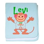 Little Monkey Levi baby blanket