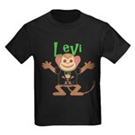 Little Monkey Levi Kids Dark T-Shirt