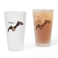 Mexican Free-Tailed Bat Drinking Glass