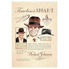 Vintage Fedora Hat Advertisement