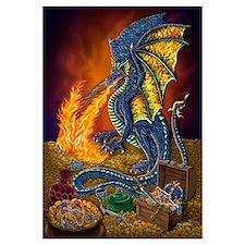 Dragon's Treasure 16x20