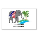 Lake County Republicans Decal