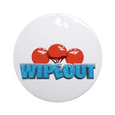 Wipeout Ornament (Round)