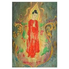 enlightened budda framed fine art prints