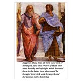 Philosophy s: Large Plato & Aristotle