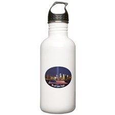 9-11 We Will Never Forget Water Bottle