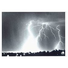 Cute Storm clouds Wall Art