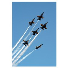 Funny Blue angels Wall Art