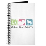 Peace, Love, Mastiffs Journal