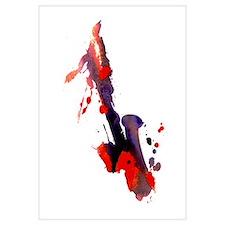 Paint Splat Saxophone