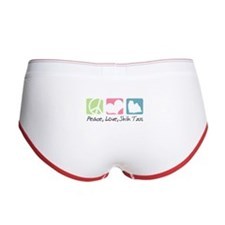 Peace, Love, Shih Tzus Women's Boy Brief