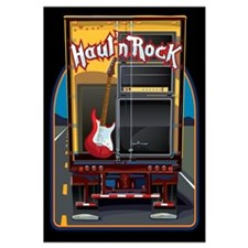 Rock Music Guitar Truck