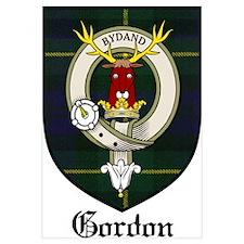 Gordon Clan Crest Tartan