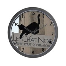 Le Chat Noir Paris Wall Clock