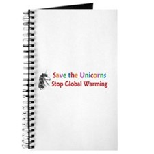 Save the Unicorns! Journal