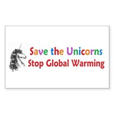 Save the Unicorns! Decal