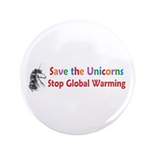 "Save the Unicorns! 3.5"" Button (100 pack)"