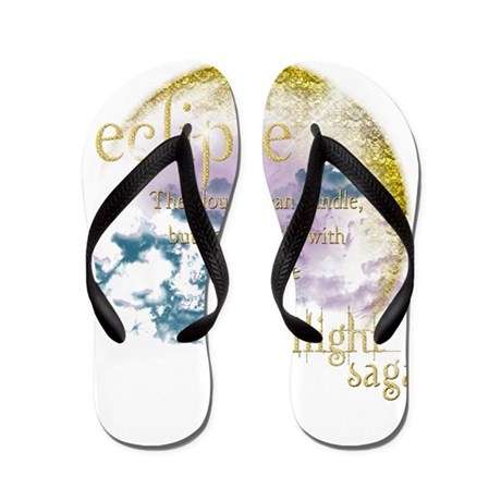Twilight Saga Eclipse Flip Flops