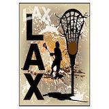 Boys lacrosse Wall Art