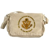 Army Daughter-in-Law Messenger Bag