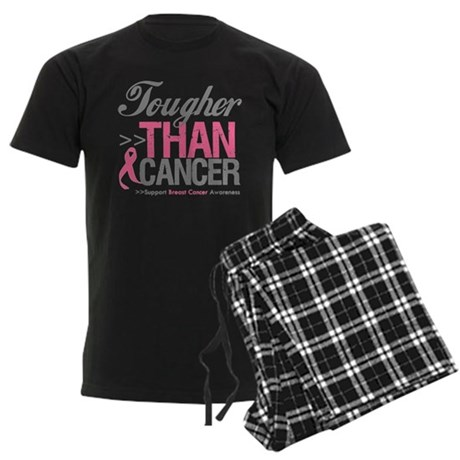 Tougher Than Cancer Men's Dark Pajamas
