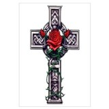 Celtic cross Wall Art