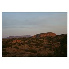 Sunset on Turtle Rock 16x20