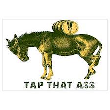 Tap That Ass Donkey Beer Keg