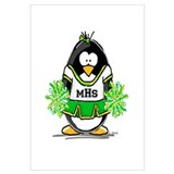 MHS Cheerleader Penguin