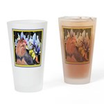 Unique Yorkshire Terrier Drinking Glass