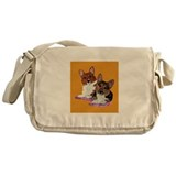 Corgi pair Messenger Bag
