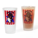 Sheltie - Made in the USA Drinking Glass