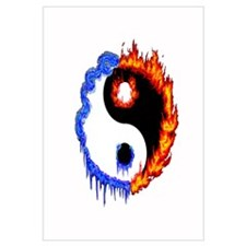 Ying Yang Ice and Fire