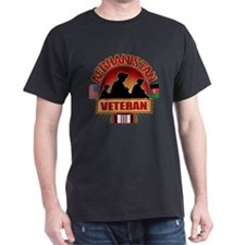 Afghanistan Veteran Flags T-Shirt