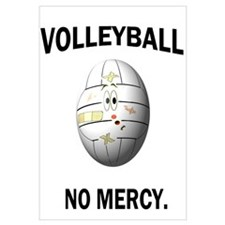 Cute Funny volleyball Wall Art