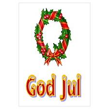 God Jul Wreath