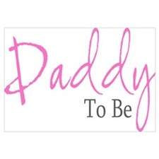 Daddy To Be (Pink Script)
