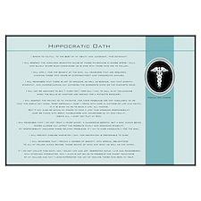 Hippocratic Oath Blue