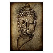 buddha skull print