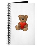Cute teddybear Journal